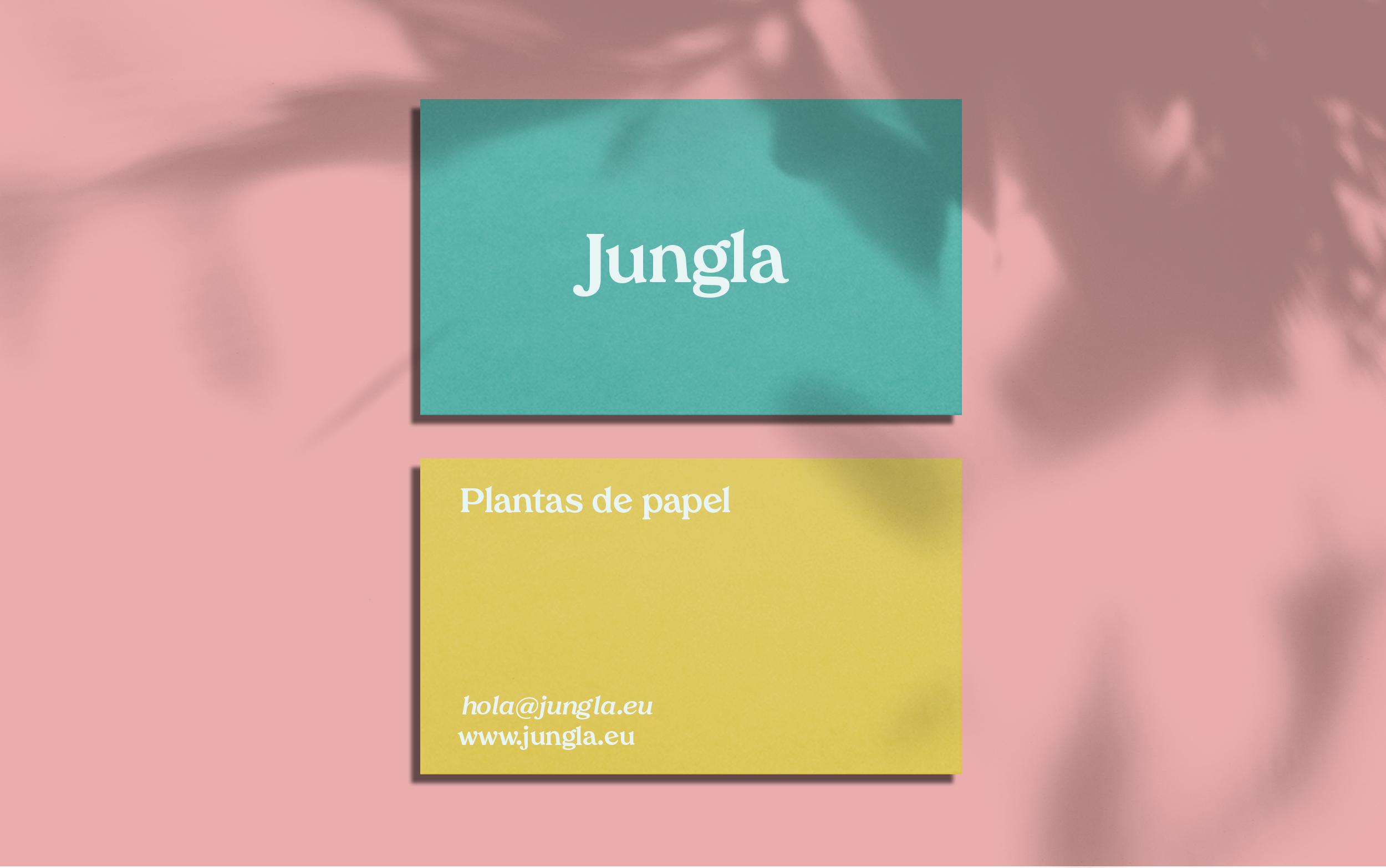 Diseño e identidad de marca Jungla.