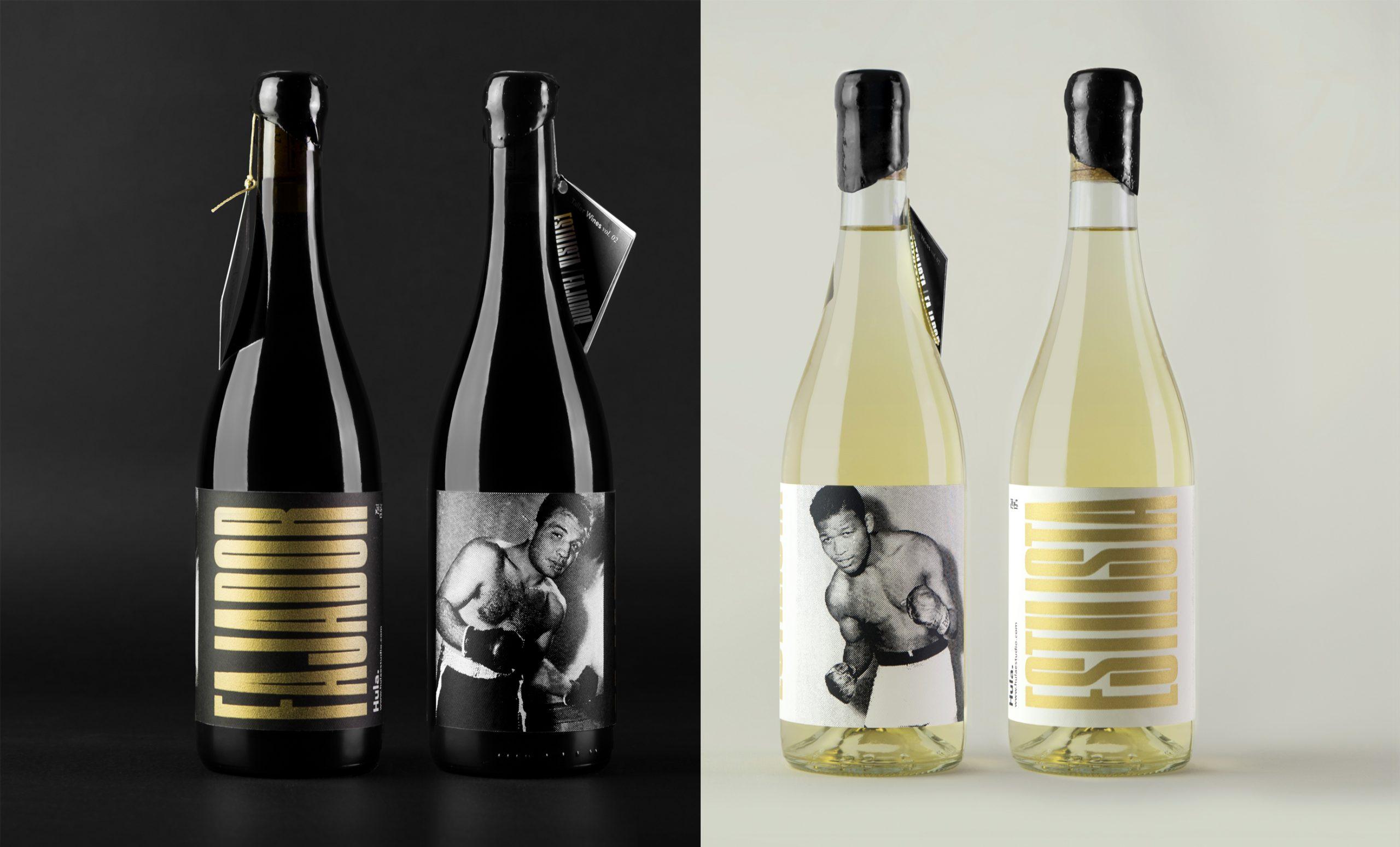 Concepto, fotografía y diseño de etiquetas de vino ganadoras de un Laus bronce, serigrafiadas a mano.