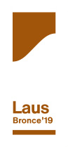 Diseño etiqueta ganador laus bronce 2019