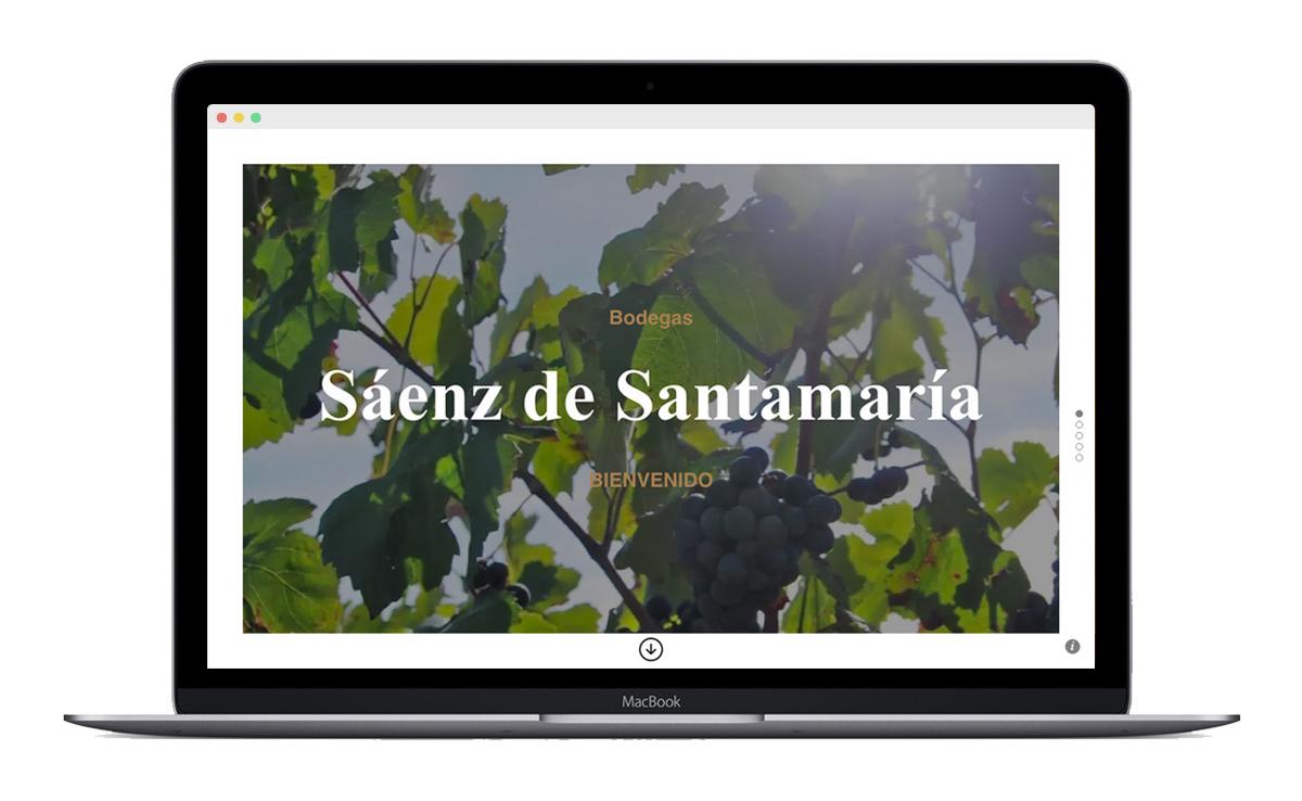 Diseño web y tienda online bodega SS. 6