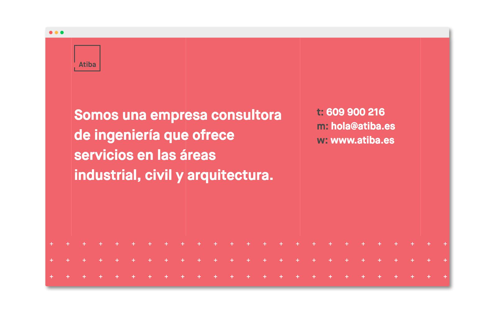 Diseño web para empresa de arquitectura e ingeniería.