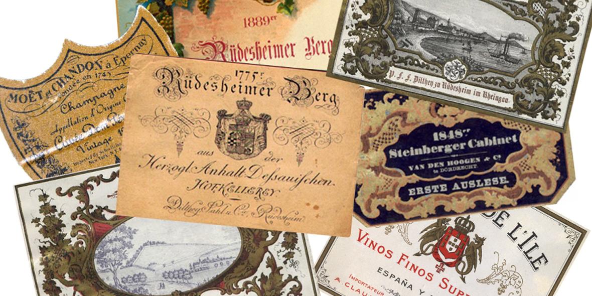 historia del diseño de etiquetas de vino 4