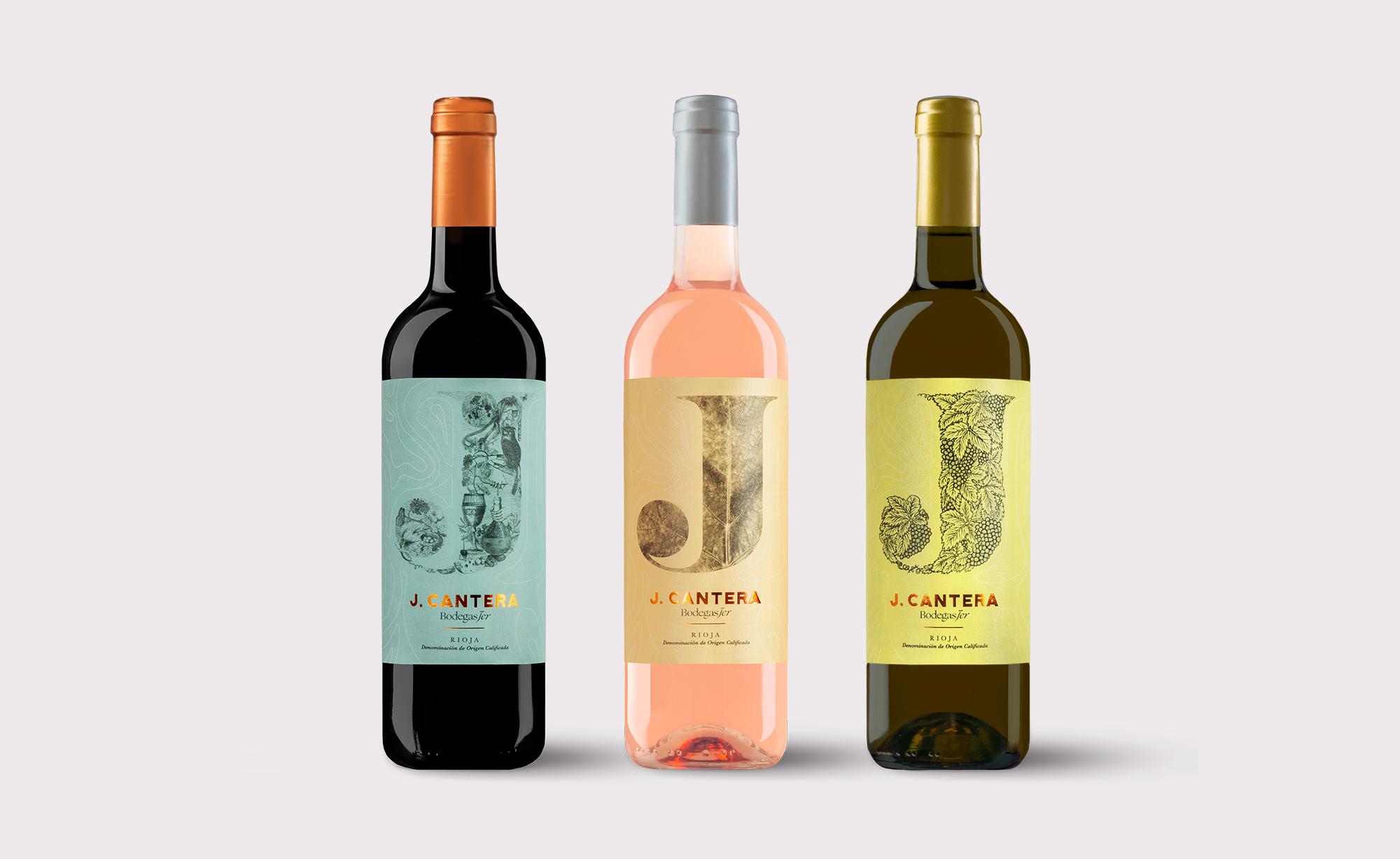 conjunto botellas J.Cantera