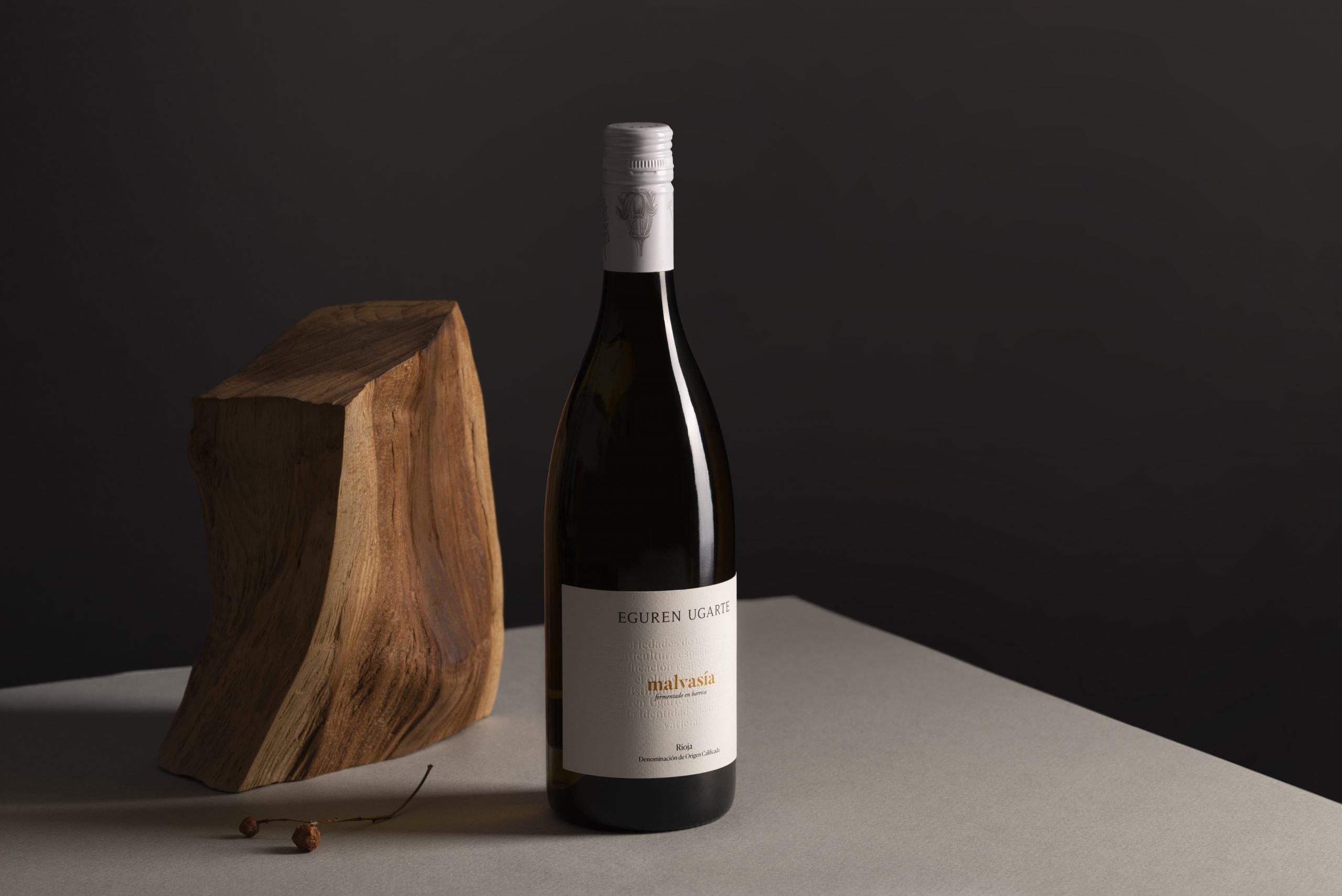 Diseño de etiquetas de vino malvasía