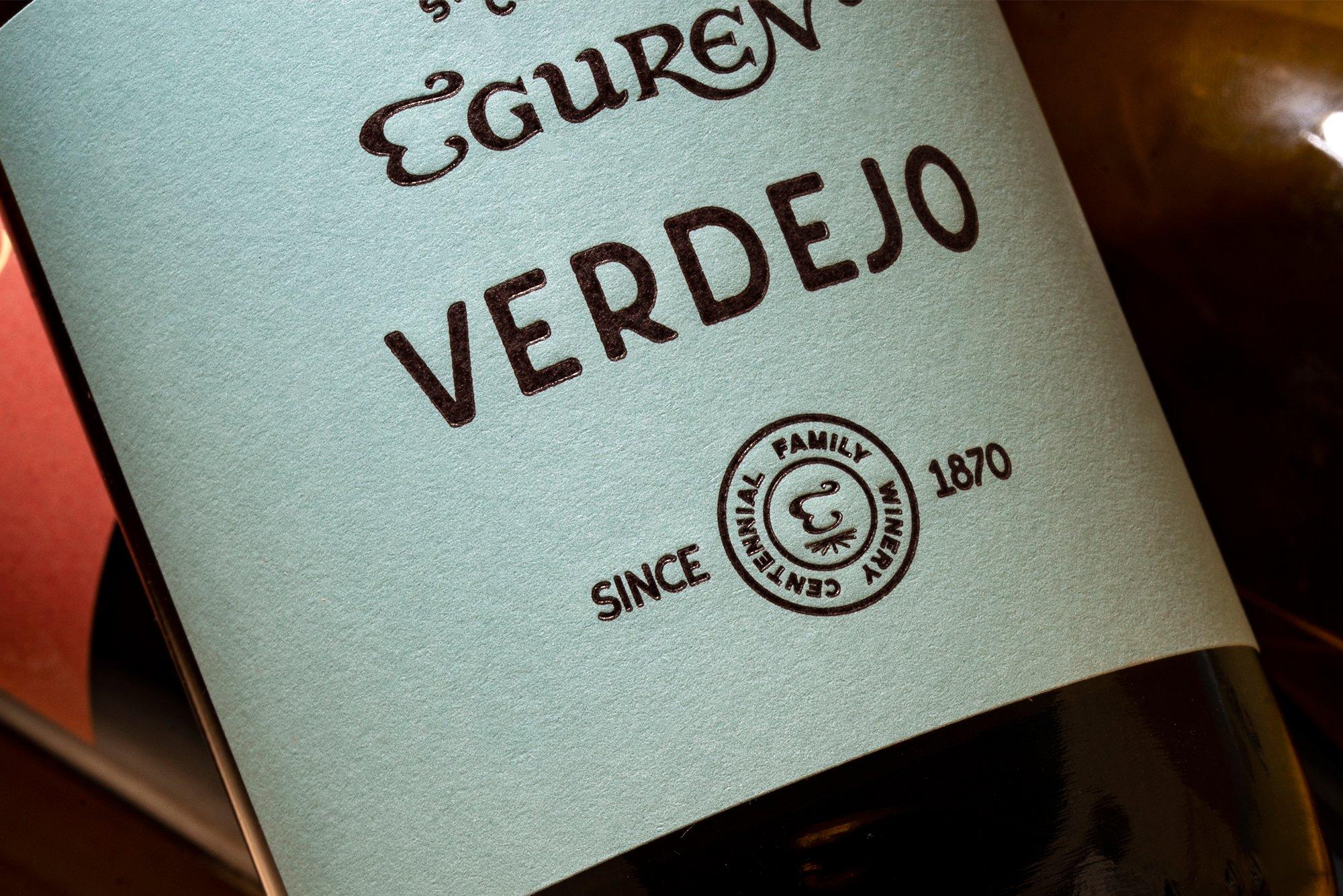 Diseño etiqueta vino: Varietales Eguren